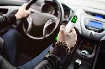 Безалкогольное пиво можно пить за рулем