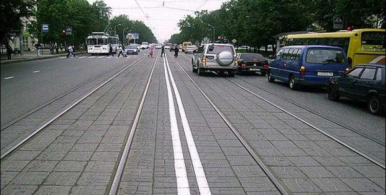 Штраф за разворот через трамвайные пути