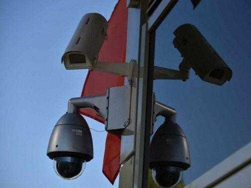Внешний вид камер контроля остановки