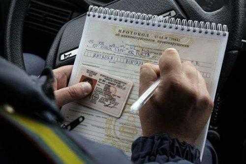 На сколько лишают прав водителей