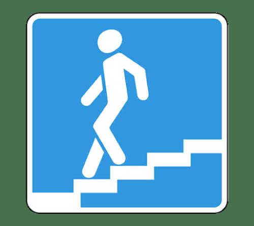 Дорожный знак «Подземный пешеходный переход»