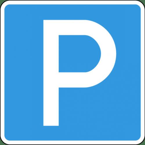 Знак парковки 6.4
