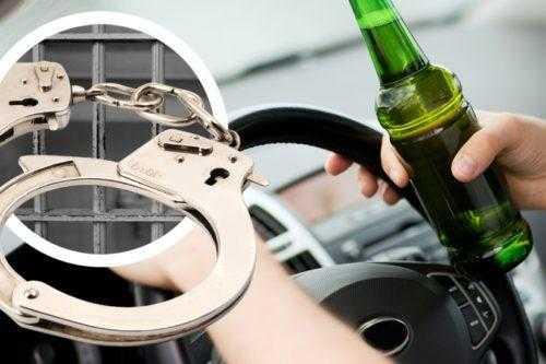 Лишение свободы за вождение в пьяном виде