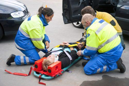 Тяжкий вред здоровью человека при аварии