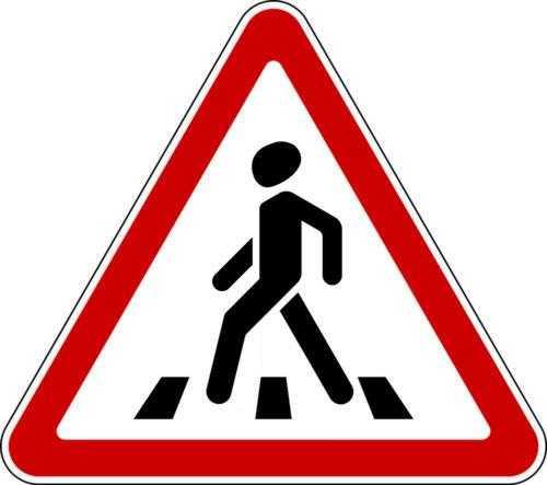 Знак 1.22 «Пешеходный переход»